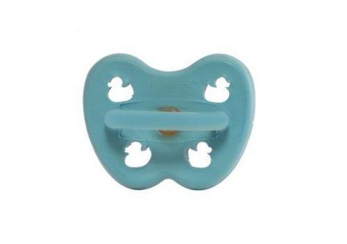 Ortodontska duda iz kavčuka RAČKA (0-3m) – Twilight Blue