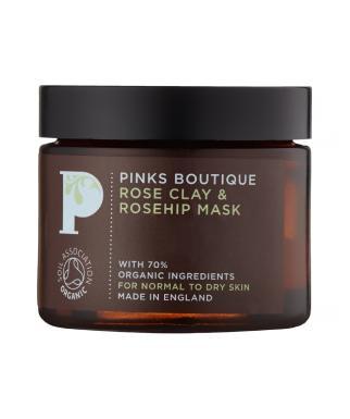 Maska za obraz iz šipka in gline, 70g