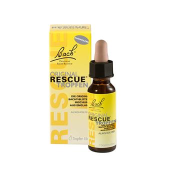 Bachove Rescue kapljice brez alkohola, 20ml