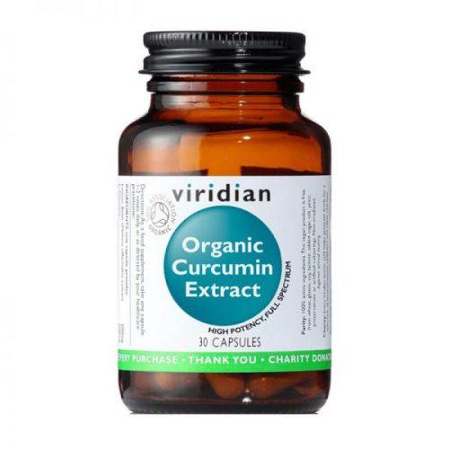 Ekološki kurkumin izvleček (30 kapsul)