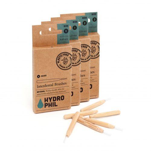 Medzobne ščetke iz bambusa – 0,40 mm