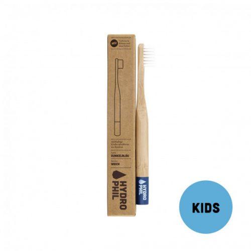 Otroška zobna ščetka iz bambusa – dark blue