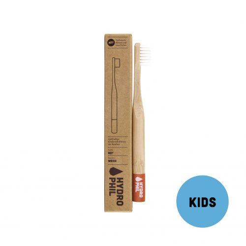 Otroška zobna ščetka iz bambusa – red