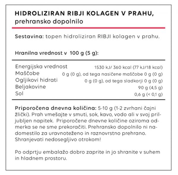 Kolagen – ribji, 200g