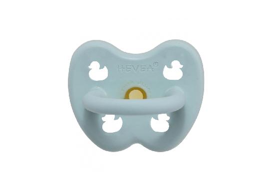 Ortodontska duda iz kavčuka BABY BLUE (0-3m)