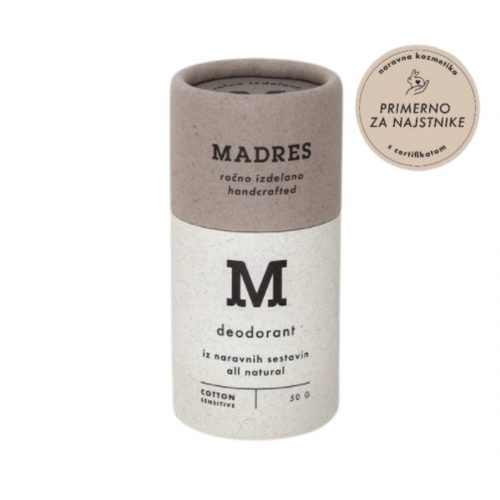 Deodorant Cotton Sensitive, 50g